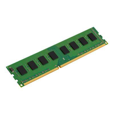 Kingston ValueRAM - DDR3 - 8 GB - DIMM 240-pin - unbuffered DIMM STD Height 30mm