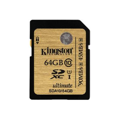 Kingston Ultimate - flash memory card - 64 GB - SDXC  EXT