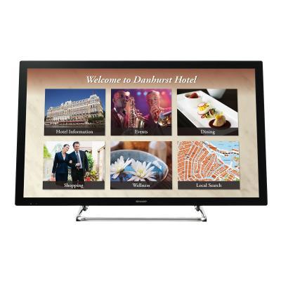 """Sharp BIG PAD PN-L401C 40"""" Class (39.5"""" viewable) LED display - Full HD 80 - 300 cd/m2 - 5 000 : 1 - 9 .5 Ms - Mini D-sub 1"""