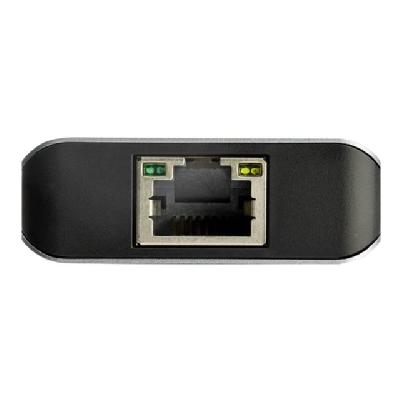 StarTech.com 3-Port USB-C Hub with LAN Port - 10Gbps - 2x USB-A & 1x USB-C (HB31C2A1CGB) - hub - 3 ports  PERP