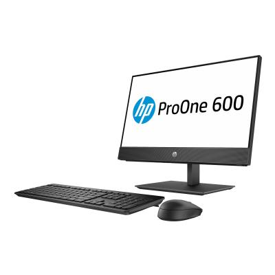 """HP ProOne 600 G4 - all-in-one - Pentium Gold G5400 3.7 GHz - 4 GB - HDD 500 GB - LED 21.5"""" - US (Language: English / region: United States)  SYST"""