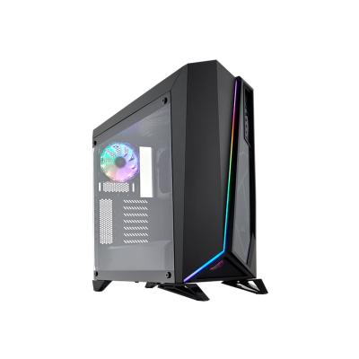 CORSAIR Carbide Series SPEC-OMEGA - tower - ATX GA RGB Mid-Tower Tempered Glas s Gaming Case  Black