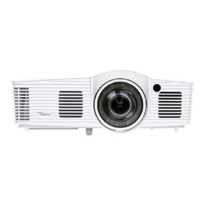 Optoma EH200ST - DLP projector - portable - 3D n  2800 lumens  20 000:1 contr ast  0.5:1 throw rat