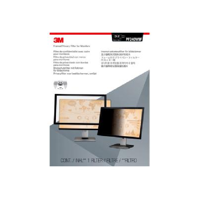 "3M Framed Privacy Filter for 24"" Widescreen Monitor - display privacy filter - 23.6""-24"" wide  ACCS"