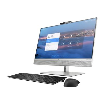 """HP Collaboration G6 - with Zoom Rooms - all-in-one - Core i5 10500 3.1 GHz - vPro - 8 GB - SSD 128 GB - LED 27"""" (Language: French / region: Canada) W/ZOOMROOMS"""