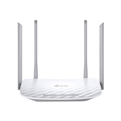 TP-Link Archer C50 - wireless router - 802.11a/b/g/n/ac - desktop er   300Mbps on 2.4GHz + 867Mb ps on 5GHz  4 fixed