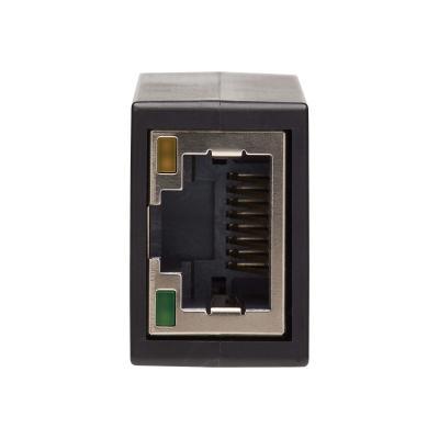 Tripp Lite USB-C to Gigabit Ethernet Vertical Network Adapter (M/F) - USB 3.1 Gen 1, 10/100/1000 Mbps, Black - network adapter - USB-C 3.1 Gen 1 - Gigabit Ethernet ER M/F