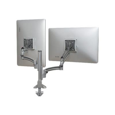 Chief Kontour K1C Series K1C220SXRH - mounting kit - for 2 LCD displays - TAA Compliant ic Column Mount  Reduced Heigh t. Typical Screen Si