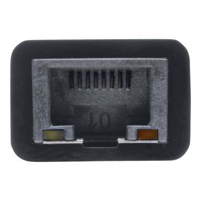 Tripp Lite USB 3.0 SuperSpeed to Gigabit Ethernet Adapter RJ45 10/100/1000 Mbps - network adapter - USB 3.0 - Gigabit Ethernet Ethernet NIC Network Adapter 10/100/1000 Mbps