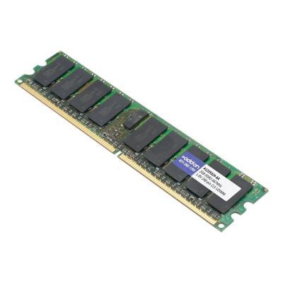 AddOn 2GB DDR2-667MHz UDIMM for Dell A1229324 - DDR2 - 2 GB - DIMM 240-pin - unbuffered  2GB DDR2-667MHz Unbuffered Du al Rank 1.8V 240-pin