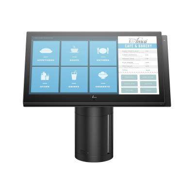 """HP ElitePOS G1 Retail System 141 - all-in-one - Celeron 3965U 2.2 GHz - 4 GB - 128 GB - LED 14"""" (Language: French / region: Canada) 4.0G  PC Canada - French local ization"""