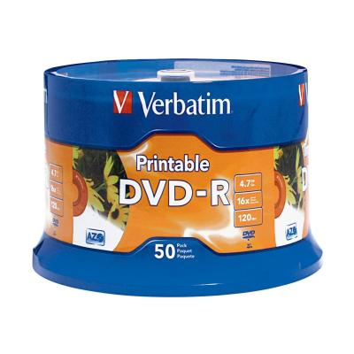 Verbatim - DVD-R x 50 - 4.7 GB - storage media SPINDLE 4.7GB