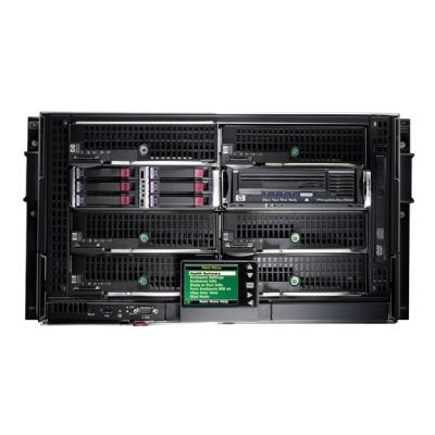 HPE BLc3000 Enclosure w/4 Power Supplies and 6 Fans with Insight Control Environment License - rack-mountable - 6U  ENCL