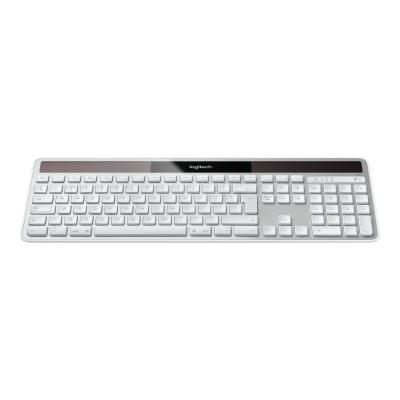 Logitech Wireless Solar K750 for Mac - keyboard - English - white  WRLS