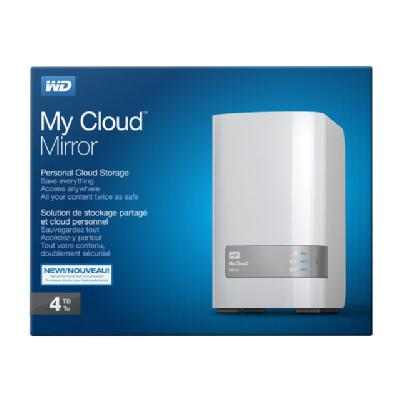 MY CLOUD MIRROR GEN 2 NAS 4TB  WRLS
