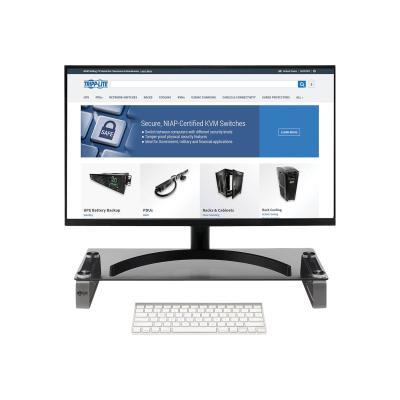 "Tripp Lite Universal Monitor Riser Stand Glass Computer Laptop Printers 3"" - stand UT LAPTOP"