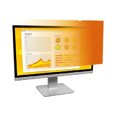 "3M Gold Privacy Filter for 24"" Widescreen Monitor (16:10) - display privacy filter - 24"" wide ucts work simply and beautiful ly on most of today"