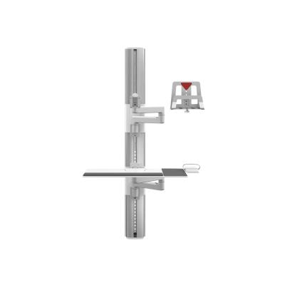 Humanscale ViewPoint Technology Wall Station V/Flex - mounting kit d two 12 in straight arms - ex tending 53 in from w
