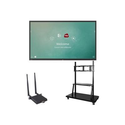 "ViewSonic ViewBoard IFP9850 Bundle 2 98"" Class (97.5"" viewable) LED display - 4K FI-001 and VB-STND-001"