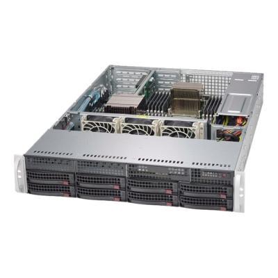 Supermicro SC825 TQ-600WB - rack-mountable - 2U  RM