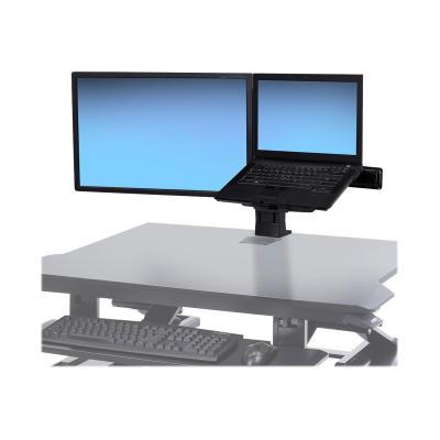 Ergotron WorkFit LCD & Laptop Kit - mounting kit - for LCD display TRON