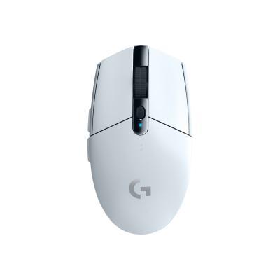 Logitech G305 - mouse - LIGHTSPEED - white  WRLS
