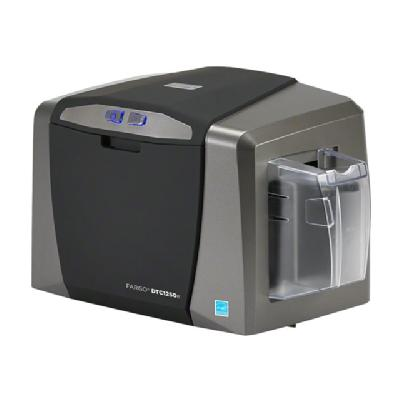 Fargo DTC 1250E - plastic card printer - color - dye sublimation/thermal resin net with Internal Print Server  (NA)