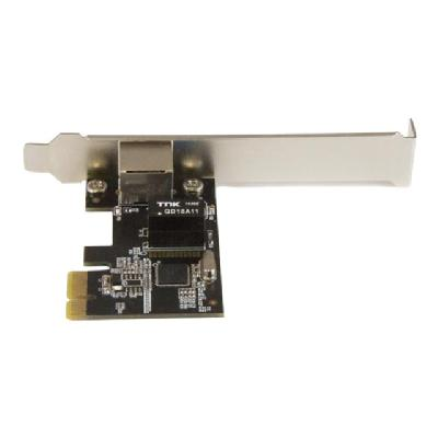StarTech.com 1-Port Gigabit Ethernet Network Card - PCI Express, Intel I210 NIC - Single Port PCIe Network Adapter Card with Intel Chipset (ST1000SPEXI) - network adapter - PCIe k Card - PCI Express  Intel I2 10 NIC