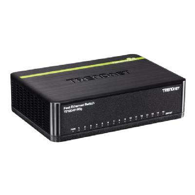 TRENDnet TE100 S16DG - switch - 16 ports  PERP