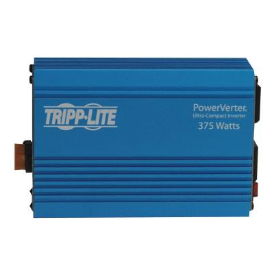 Tripp Lite Compact Car Portable Inverter 375W 12V DC to 120V AC 2 Outlets - DC to AC power inverter - 375 Watt  PERP