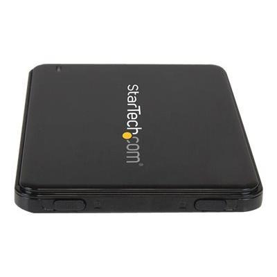 """StarTech.com 2.5in USB 3.0 SATA Hard Drive Enclosure w/ UASP for Slim 7mm SATA III SSD / HDD - 7mm 2.5"""" Drive Enclosure - SATA 6 Gbps (S2510BPU337) - storage enclosure - SATA 6Gb/s - USB 3.0"""