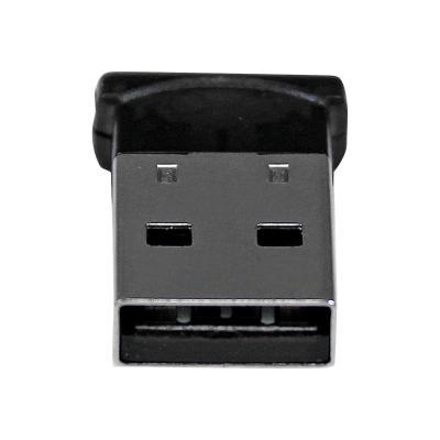 StarTech.com Bluetooth Adapter - Mini Bluetooth 4.0 USB Adapter - 50m/165ft Wireless Bluetooth Dongle - Smart Ready LE+EDR (USBBT1EDR4) - network adapter - USB  1 USB BLUETOOTH 4.0