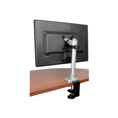 """StarTech.com Monitor Desk Mount - Adjustable - Supports Monitors 12"""" to 34"""" - Premium Single Screen VESA Monitor Mount - Desk & Grommet Clamp -Silver (ARMPIVOT) - mounting kit - for LCD display (adjustable arm)  MOUNTING ARM"""