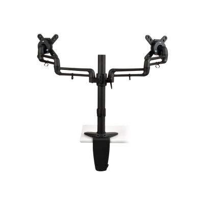 """Tripp Lite Dual Display Flex Desk Mount Clamp 13"""" to 27"""" EA - mounting kit (full-motion)  Clamp for 13 inch to 27 inch Monitors"""