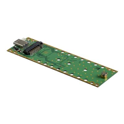 StarTech.com USB-C (10Gbps) to M.2 NVMe SSD Enclosure - Portable M.2 PCIe Aluminum Case - 1GB/s Read & Write - Mac & PC - storage enclosure - M.2 Card - USB 3.1 (Gen 2)