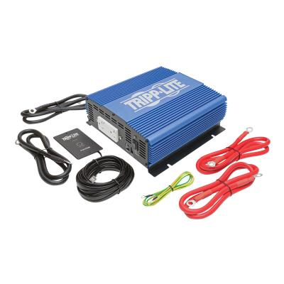 Tripp Lite 2000W Compact Power Inverter Mobile Portable w/ 2 Outlets & 1 USB Charging Port - DC to AC power inverter - 2000 Watt TPERP