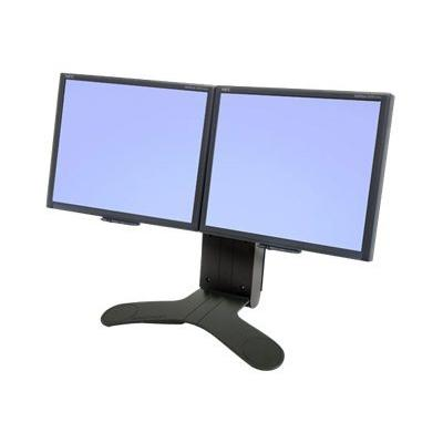 Ergotron LX Dual Display Lift Stand - stand E & ENERGY PIVOT BLK