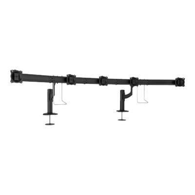 Chief Kontour Series K4G510B K4 5x1 Grommet Mounted Array - mounting kit - for 5 LCD displays - TAA Compliant  Array. Typical Screen Sizes: 19 to 24inch diagona