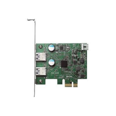 BUFFALO USB 3.0 PCI Express Interface Card - USB adapter - PCIe 2.0 - USB 3.0 x 2  EXPRESS