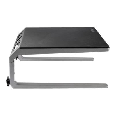 """StarTech.com Monitor Riser Stand - For up to 32"""" Monitor - Height Adjustable - Computer Monitor Riser - Steel and Aluminum (MONSTND) - stand  STND"""