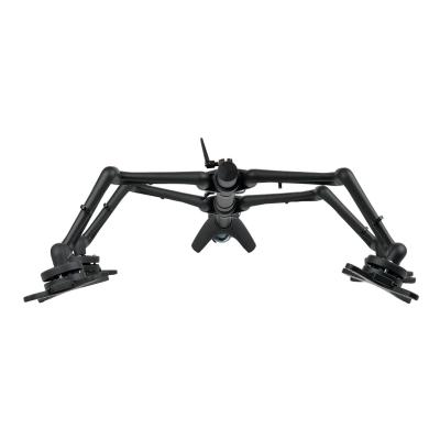 """Tripp Lite Quad Full-Motion Display Flex Arm Desk Mount Monitor Stand Clamp 13"""" to 27"""" EA - mounting kit (full-motion) 3-27IN"""