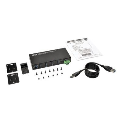 Tripp Lite 4-Port Rugged Industrial USB 3.0 SuperSpeed Hub - hub - 4 ports  PERP