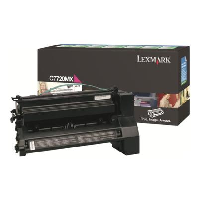 Lexmark - Extra High Yield - magenta - original - toner cartridge - LCCP, LRP 000 pages at 5% coverage - for  Lexmark C772n / C77