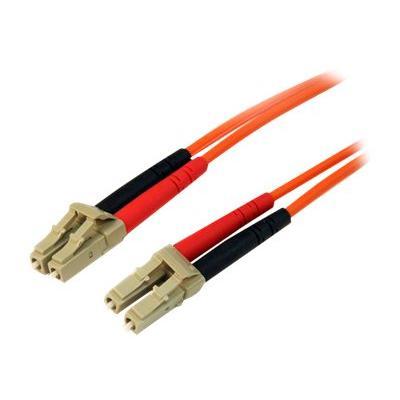 StarTech.com 10m Fiber Optic Cable - Multimode Duplex 50/125 - LSZH - LC/LC - OM2 - LC to LC Fiber Patch Cable - patch cable - 10 m - orange  CABL