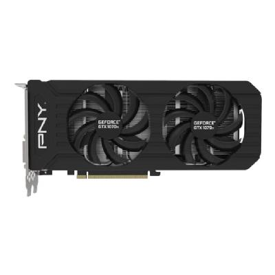 PNY GeForce GTX 1070 Ti - graphics card - GF GTX 1070 Ti - 8 GB - black  CTLR