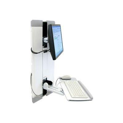 Ergotron StyleView Vertical Lift, Patient Room - mounting kit - for LCD display / keyboard / mouse WHT