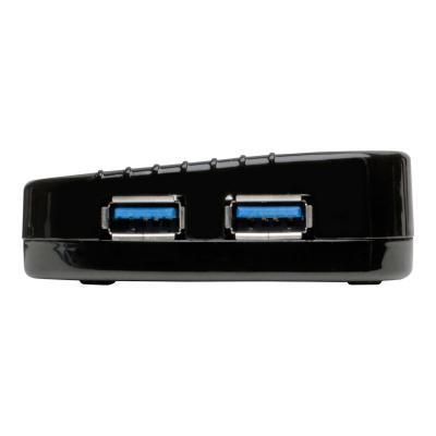 Tripp Lite USB 3.0 Hub SuperSpeed 10-Port USB-A Compact w/ USB Charging - hub - 10 ports  PERP