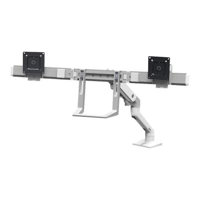 Ergotron HX Desk Dual Monitor Arm - mounting kit Top Mount C-Clamp
