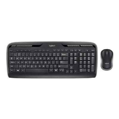 Logitech Wireless Desktop MK320 - keyboard and mouse set OUT)