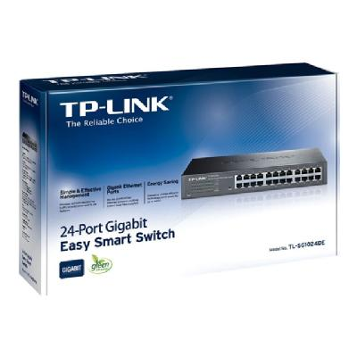 TP-Link JetStream TL-SG1024DE - switch - 24 ports - rack-mountable YPERP
